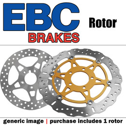 EBC Polished Hub Disc Rotors MD4141CC
