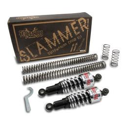 Burly B28-1000 Chrome Slammer Kit for Harley Davidson Sportster 88-03