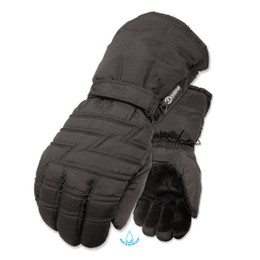 Olympia 6000 Mens Mustang Black Long Winter Gloves