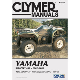 Clymer M285-2 Service Shop Repair Manual Yamaha Grizzly 660 2002-2008