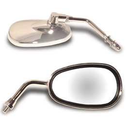 EMGO Lil Cruiser Mirror with 10MM Threads Chrome (20-86835)