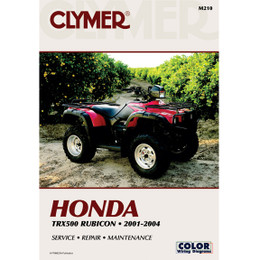 Clymer M210 Service Shop Repair Manual Honda TRX500F 2001-2004