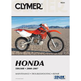 Clymer M225 Service Shop Repair Manual Honda XR650R 2000-2007