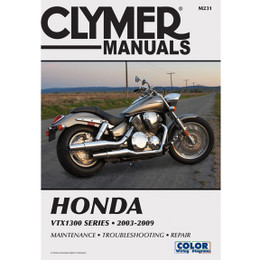 Clymer M231 Service Shop Repair Manual Honda VTX1300 Series 2003-2009
