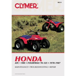 Clymer M311 Service Shop Repair Manual Honda ATC TRX 4trax 70-125 70-87