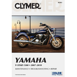 Clymer M283 Service Shop Repair Manual Yamaha V-Star 1300 2007-2010