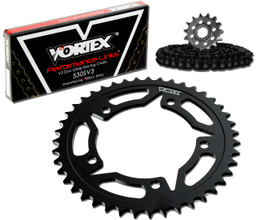 Vortex CK2141 Chain and Sprocket Kit WSS HON VFR800F 02-09 (STK,STL)
