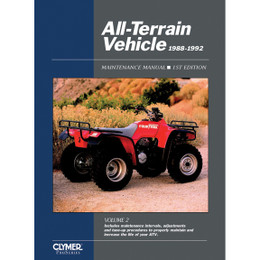 Clymer ATV2-1 Service Shop Repair Manual All-Terrain Vehicles Vol 2