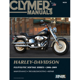 Clymer M250 Service Shop Repair Manual Harley FLS/FXS/FXC Sofftail Series 06-09