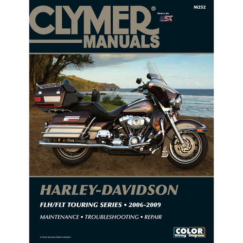 clymer m252 service shop repair manual harley flh flt touring rh speedaddicts com Seats for 2009 HD Ultra 2009 Ultra Classic Review