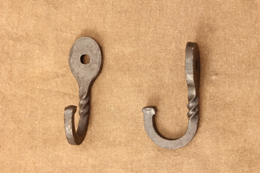 wrought iron oval hooks
