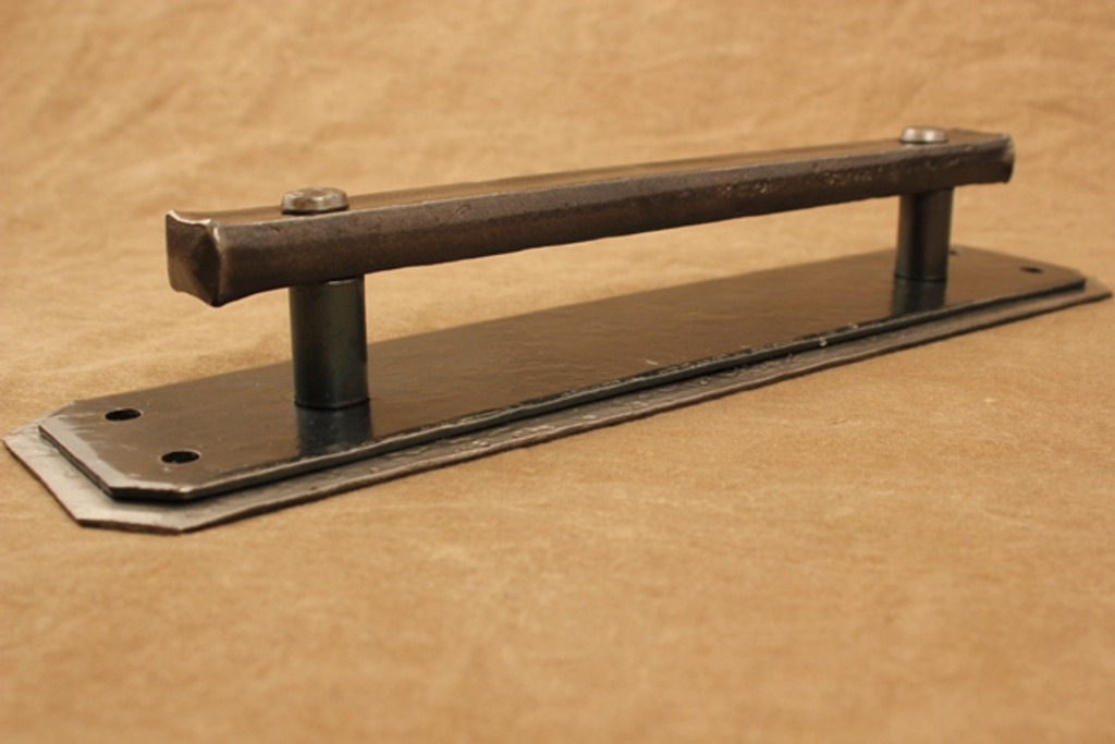 Double Backplate Door Handle, large