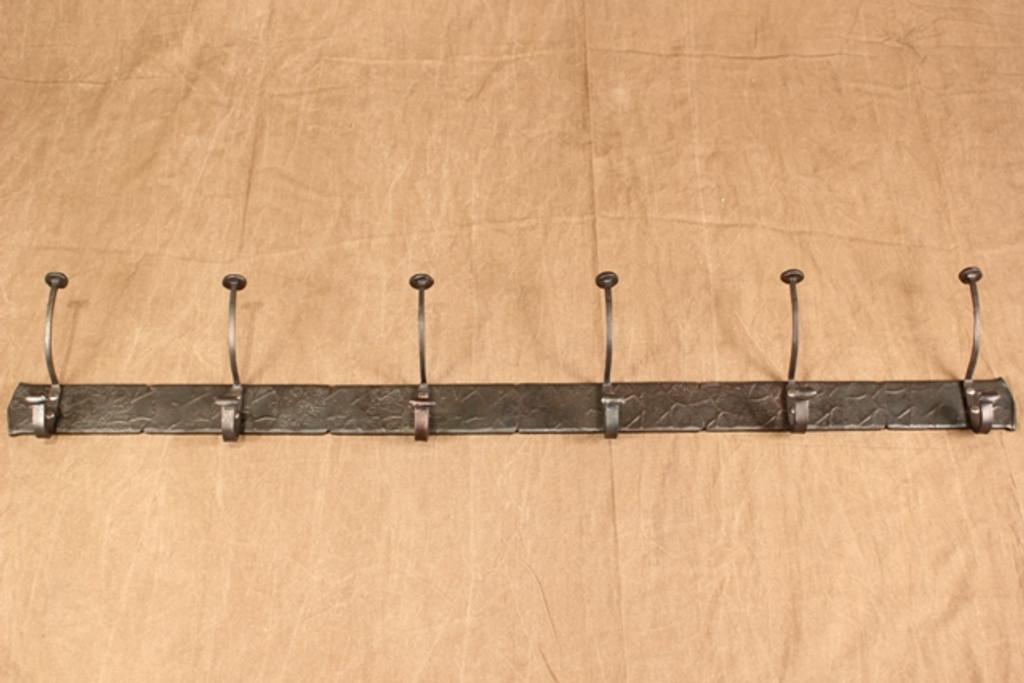 Coat & Hat Rack, 6 hooks