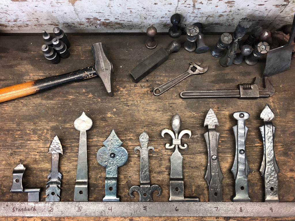 Hand Forged Fireplace Doors