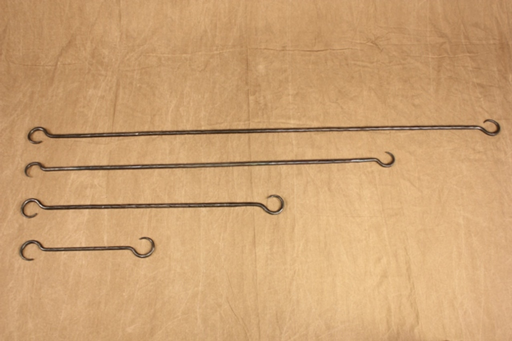 wrought iron extension links - 4 sizes
