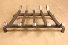 wrought iron standard fireplace grate - 5 Bar