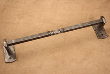 Hammered Square Towel Bar