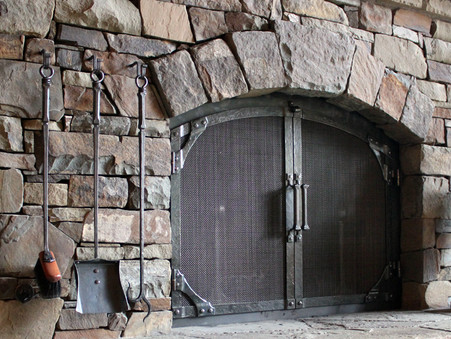 Hand Forged Fireplace Doors Ponderosa Forge