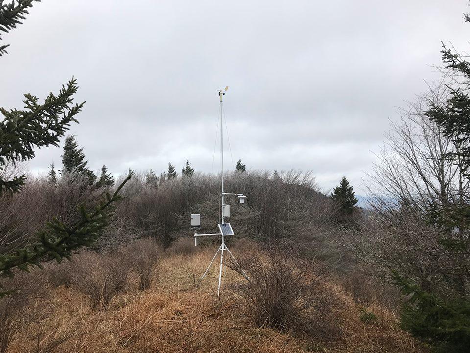 Spruceknob summit station