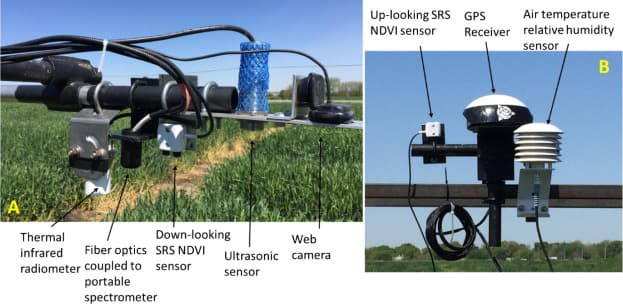 Apogee's Infrared Radiometer is used along with other sensors for phenotyping