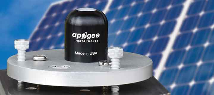 Apogee cost-effective SP-110 silicon-cell pyranometer