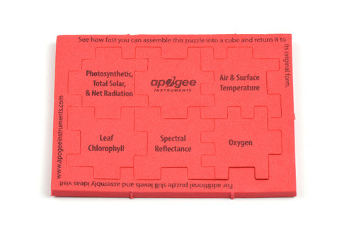 Apogee Cube Puzzle Level 3 - Red
