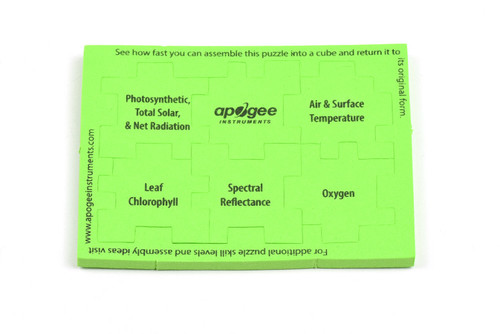 Apogee Cube Puzzle Level 5 - Green