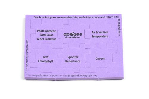 Apogee Cube Puzzle Level 6 - Purple