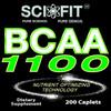 BCAA 1100 ER (1100mg/Serving - 200 Tablets)
