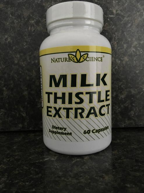 Milk Thistle (500mg) Capsules