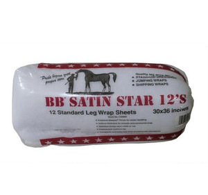 BB Satin Star Equine Leg Wrap (30 x 36 in) (12 Pack)