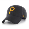 Pittsburgh Pirates MVP Black 47Brand MLB Snapback Hat
