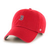 Boston Red Sox Red Small Logo 47Brand MLB Strapback Clean Up Hat