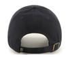 Las Vegas Golden Knights 47Brand Black Gold Logo NHL Strap Back Clean Up Hat
