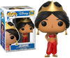 Aladdin - Jasmine (Red Dress) Glitter US Exclusive Pop! Vinyl Figure