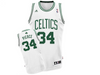 Boston Celtics Paul Pierce White Home Adidas Swingman Jersey