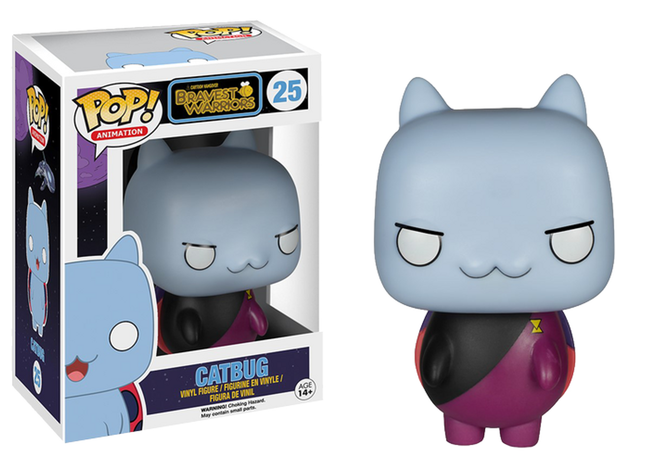Commander Catbug Bravest Warriors Pop Animation Vinyl