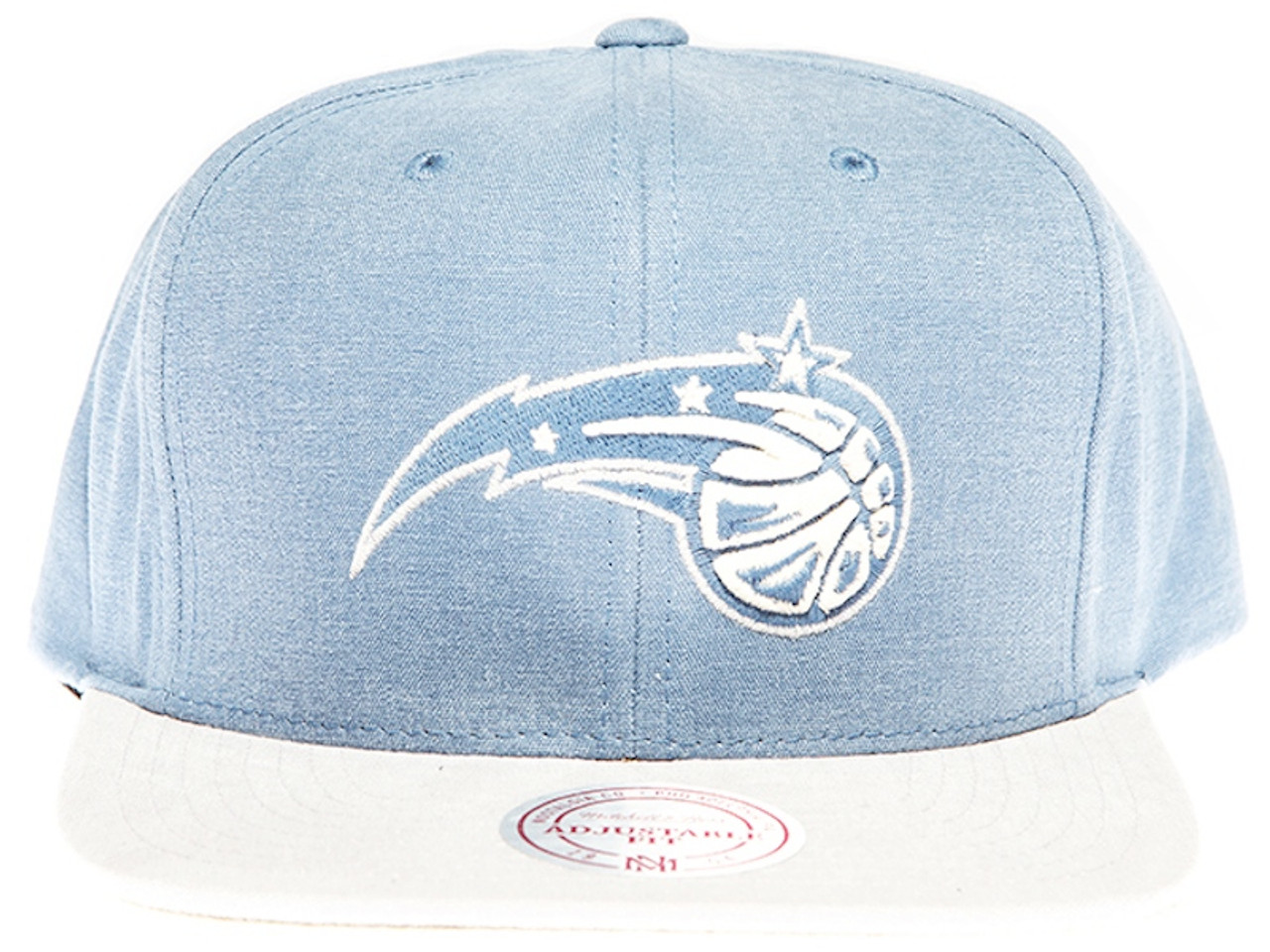 brand new 95d92 cdc4b official orlando magic sandy 2 tone blue and grey mitchell ness nba snapback  hat f5b9f 02536