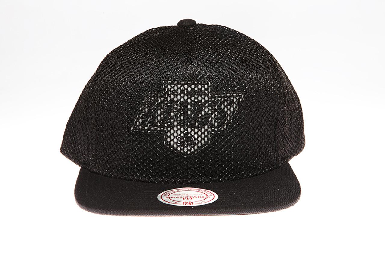 new product 96c53 fb91e ... Logo Mitchell   Ness Snapback Hat. Mitchell   Ness