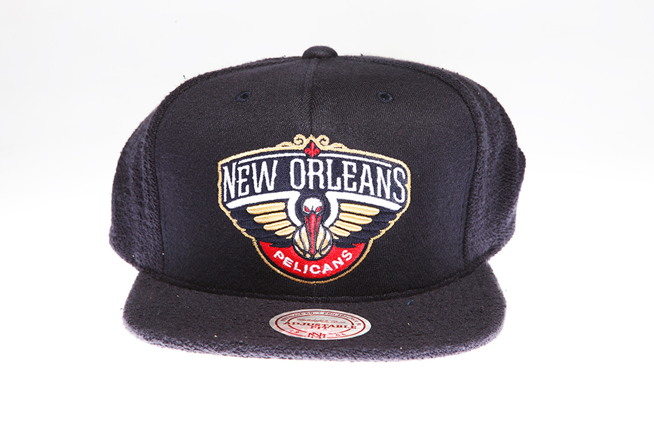 release date 0e078 444f3 ... canada new orleans pelicans logo flannel mitchell ness snapback hat  ee913 5054f