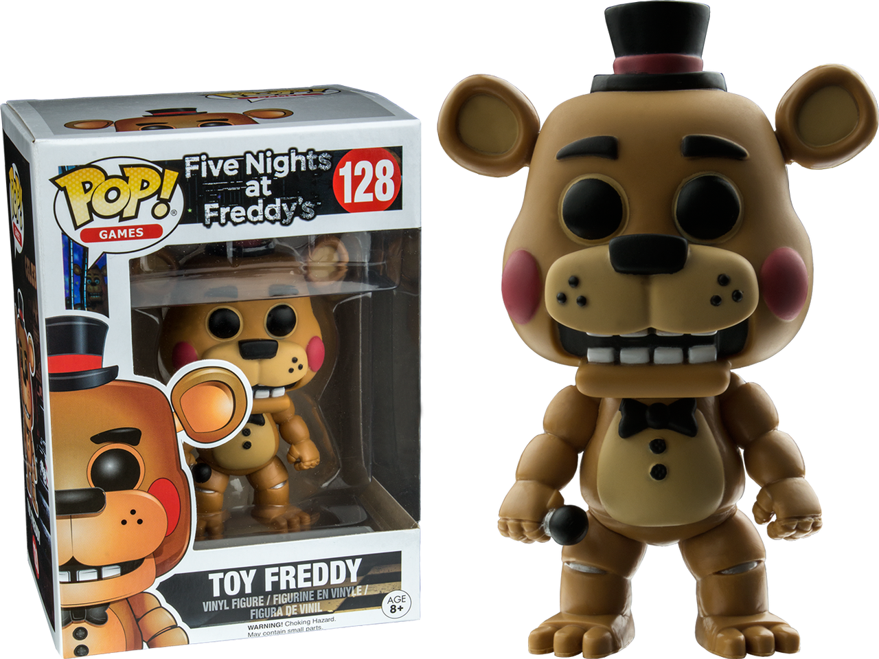 Five Nights At Freddy S Toy Freddy Us Exclusive Pop