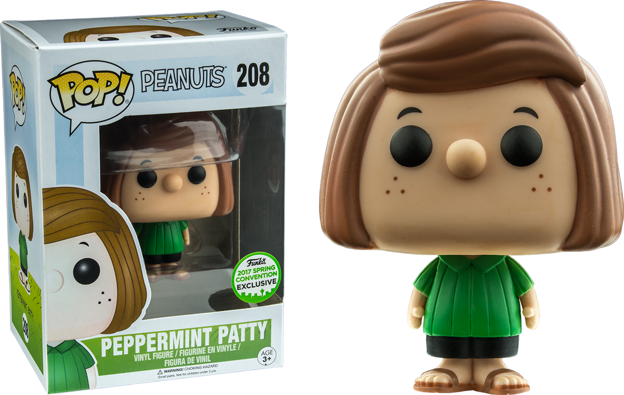 Peanuts Peppermint Patty Eccc 2017 Us Exclusive Pop