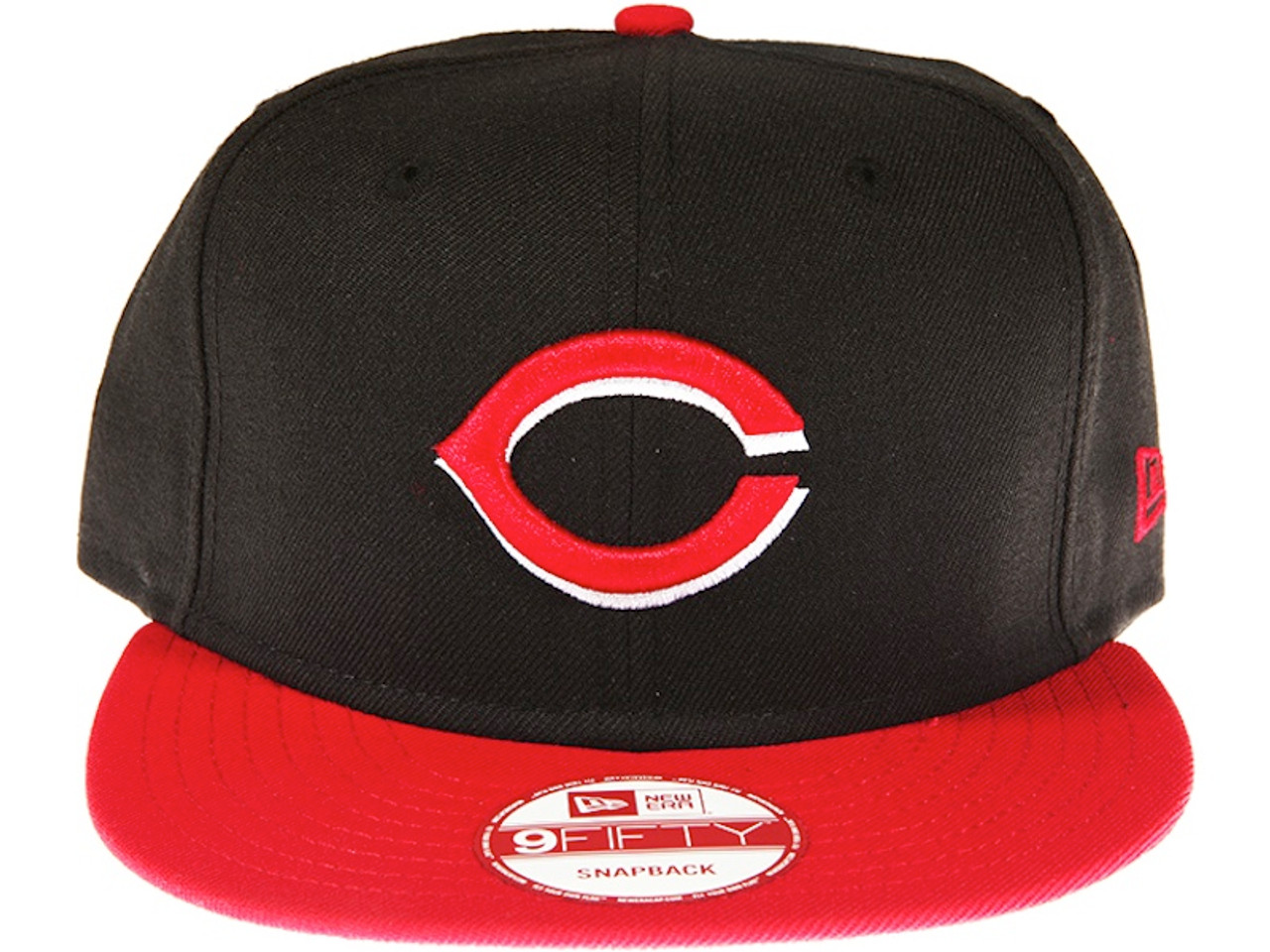 wholesale dealer f664a 11f07 ... 50% off cincinnati reds 2 tone black and red new era 9fifty mlb snapback  hat