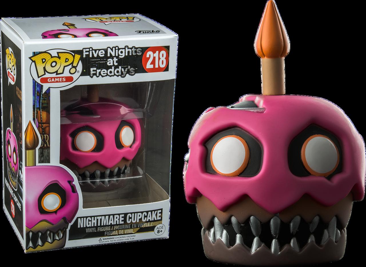 Five Nights At Freddy S Nightmare Cupcake Pop Vinyl Figure