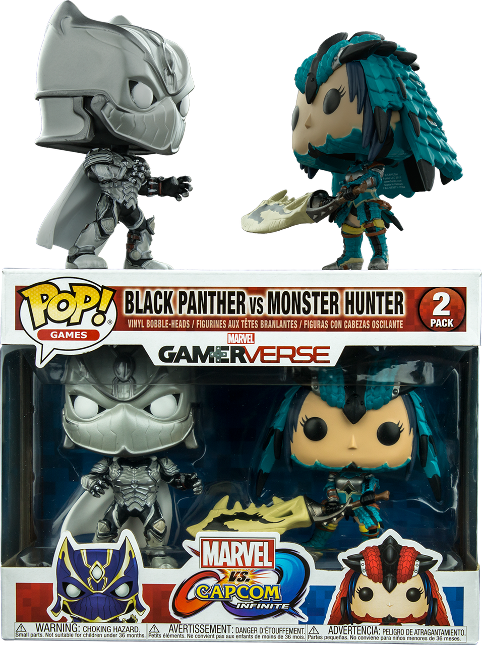 Marvel Vs Capcom Infinite Black Panther Vs Monster