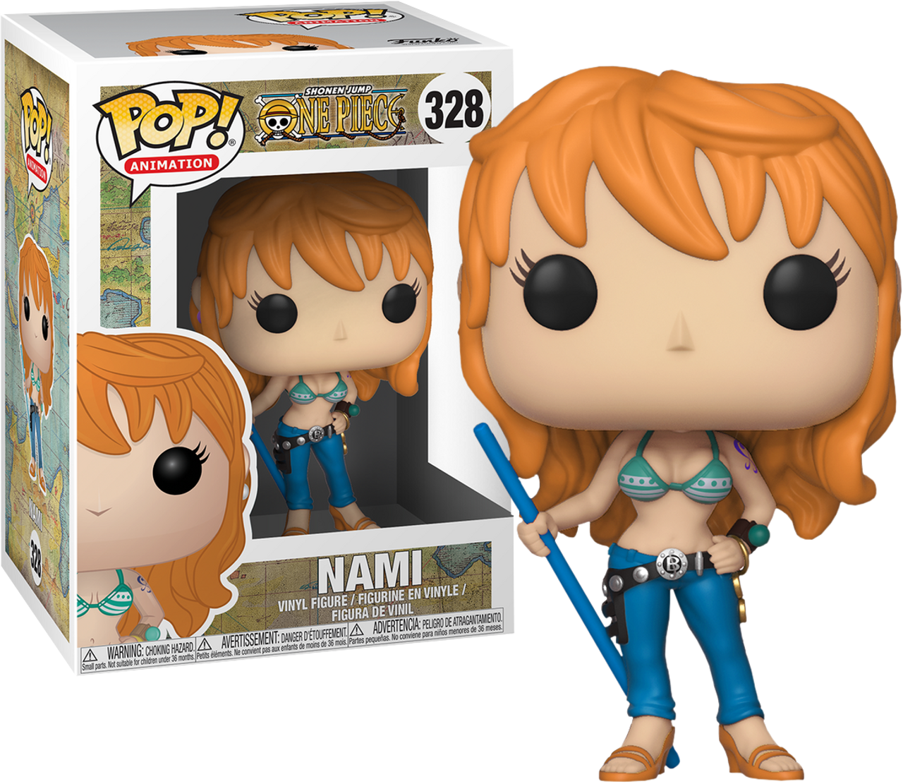One Piece Nami Pop Vinyl Figure