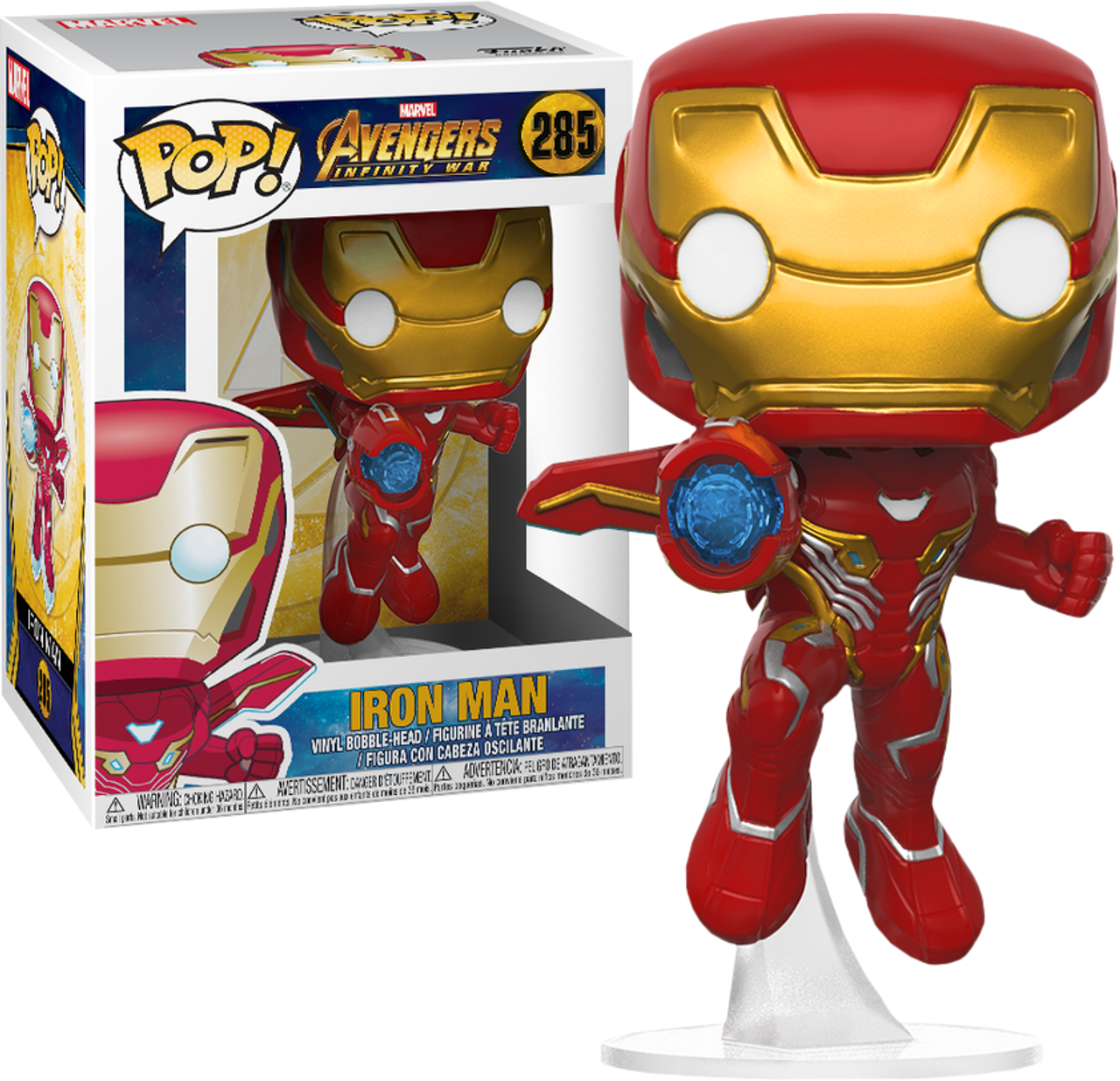 Avengers 3 Infinity War Iron Man Flying Pop Vinyl Figure