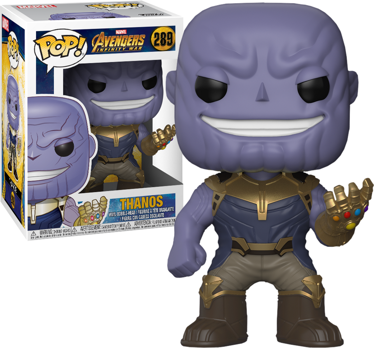 Avengers 3 Infinity War Thanos Pop Vinyl Figure