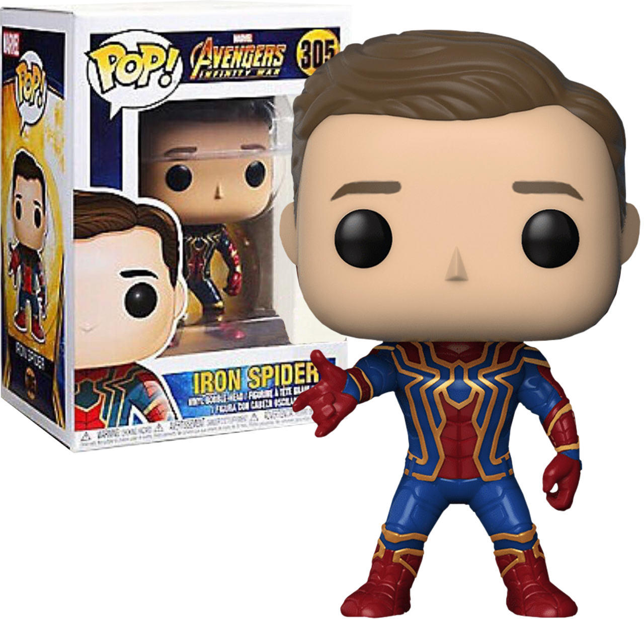 Avengers 3 Infinity War Iron Spider Unmasked Us