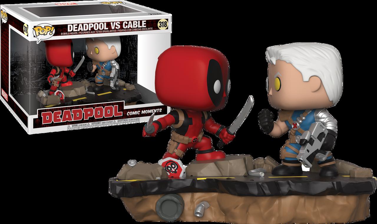 Deadpool Deadpool Vs Cable Comic Moments Pop Vinyl